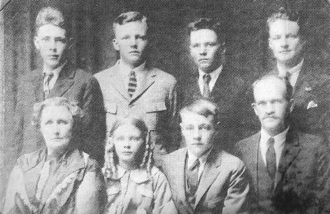 John Riley Inabnit and family