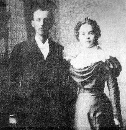 Robert L. and Elizabeth Dean (Inabnitt) Todd - Wedding Photo - November 17, 1897