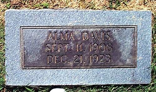 Alma's Tombstone