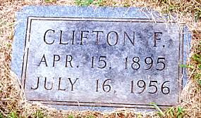 Grave of Clifton Floyd Robinson (s/o Isabelle Davis Robinson)
