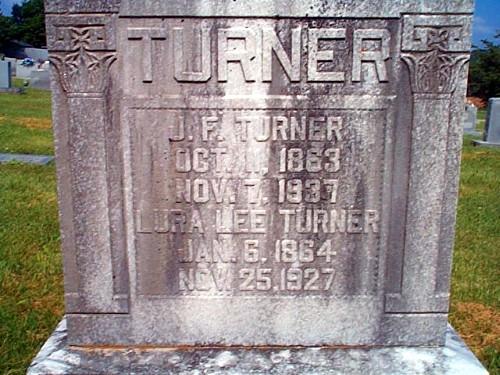 John and Lura's Tombstone