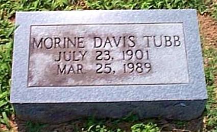 Morene's Tombstone