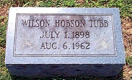 Wilson's Tombstone