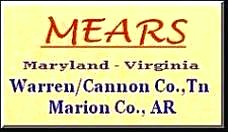 Click to view my Mears Family pages