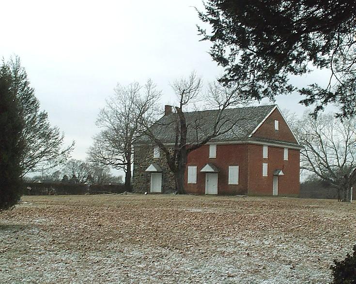 Brick Meeting House - February 2008