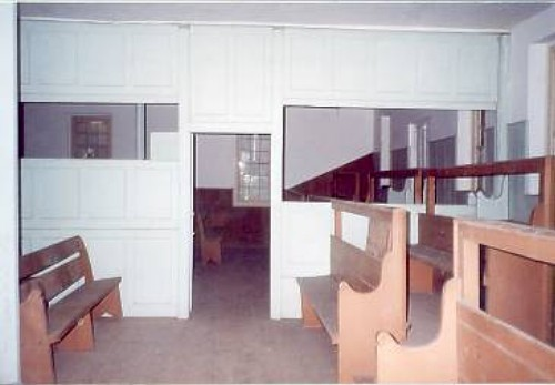 Brick Meeting House - Interior