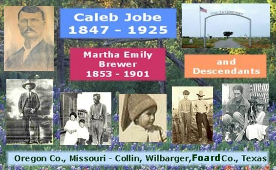 Caleb Jobe - Martha Emily Brewer Banner