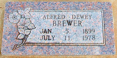 Alfred's Tombstone