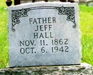 Jeff Hall's Tombstone