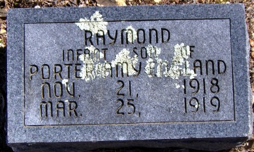 Raymond's Tombstone