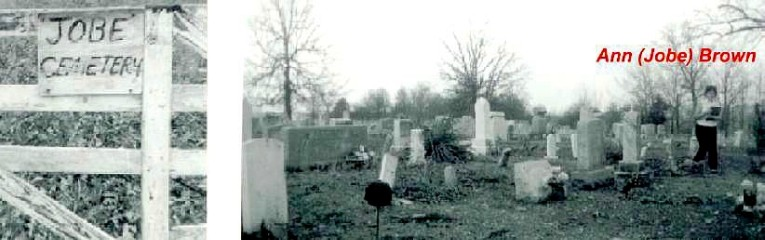 Old Jobe Cemetery Entrance - 1969