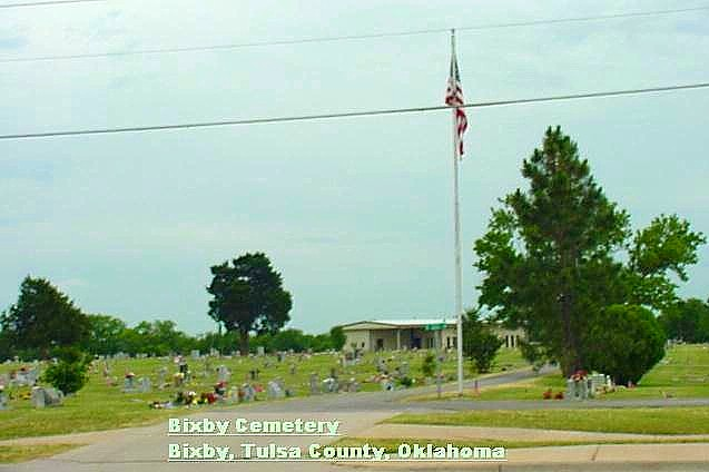 Bixby Cemetery Overview