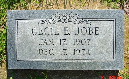 Cecil's Tombstone