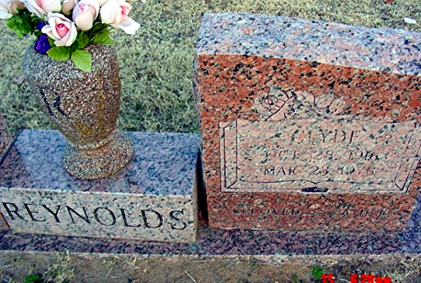 Clyde's Tombstone