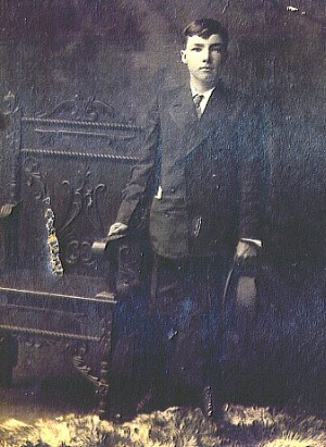 Ned Naughton - about 1908
