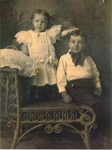 Ned and Rosy Naughton 1900