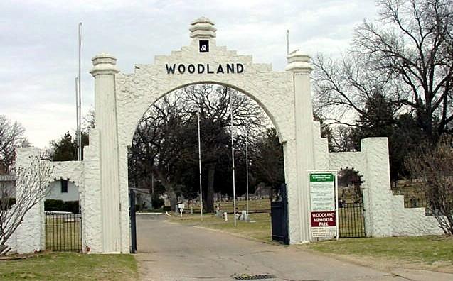 Woodlawn Cemetery Entrance