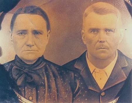 Rhoda Jane (Harmon) and John Houston Ewton
