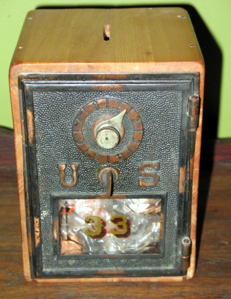 Original Post Office Box made by Alfred Hoskins