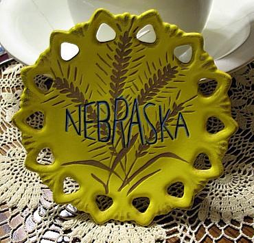 Ceramic Plate - Front