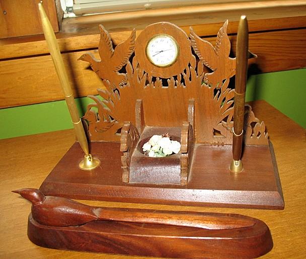 Desk Set and Letter Opener