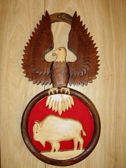 Eagle and Buffalo