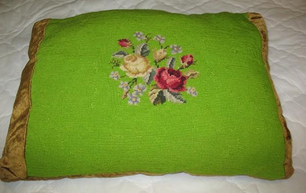 Needle Point Pillow