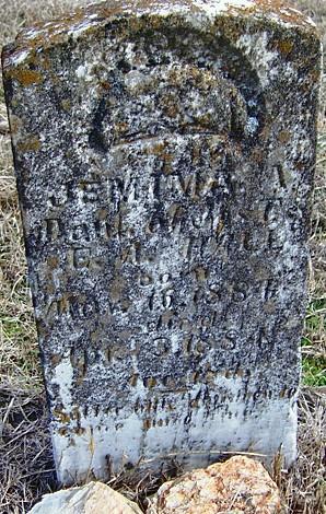 Jemima's Tombstone