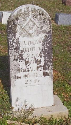 Mack Looney's Tombstone