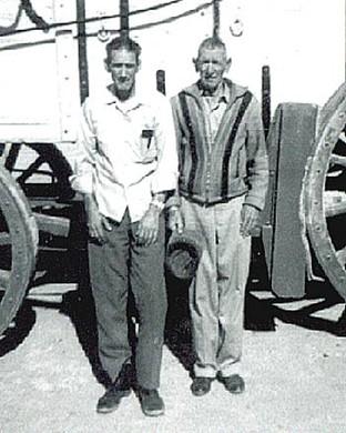 November 1970 - Brothers, Earl and Bill Jobe
