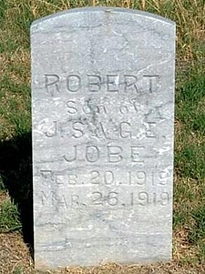Robert's Tombstone