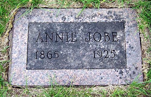 Annie (Beattie) Jobe Tombstone
