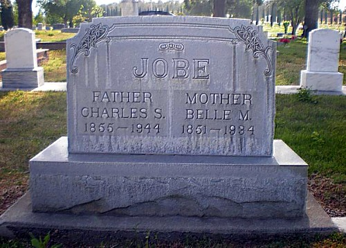 Charles and Belle's Tombstones