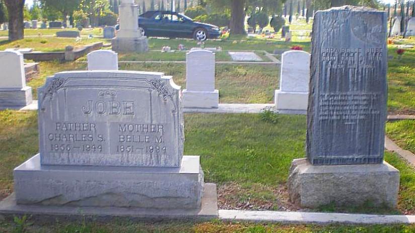 Charles Stoddard Jobe Cemetery Plot