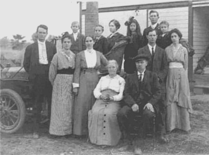 Charles Stoddard Jobe and family