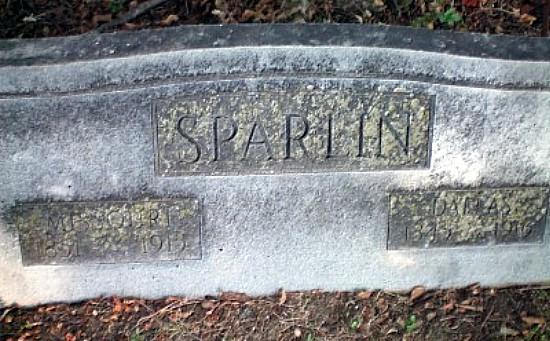 Dallas and Missouri Sparlin Tomb