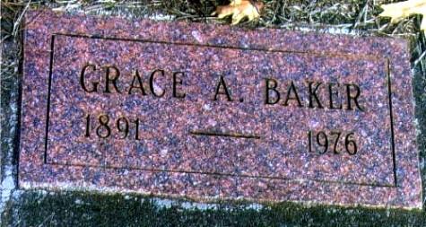 Grace Alice's Tombstone
