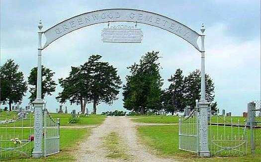 Greenwood Cemetery Entrance