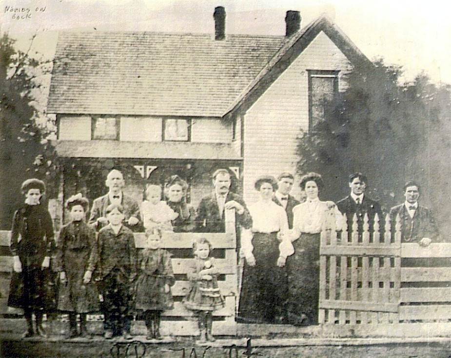 George Henry McClelland Jobe Family 1894