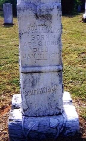 J. L. Southward's Tombstone