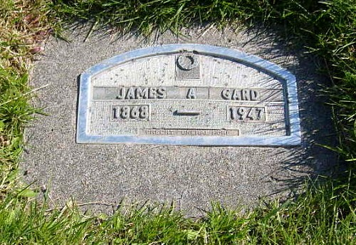 James A. Gard Tombstone