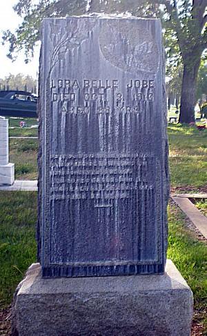 Lora's Tombstone