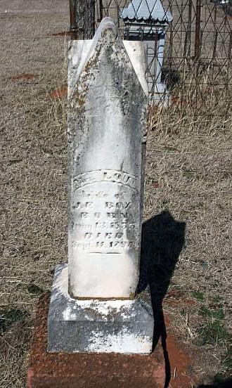 Bailey Cemetery Entrance