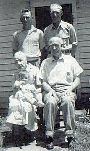 Nancy (Thompson) Wohlford - 4 generations