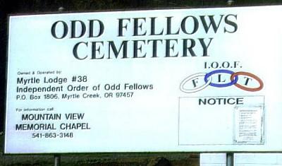 Odd Fellows Cemetery