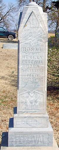 Rosa L. (Edmonsom) Percival Tombstone