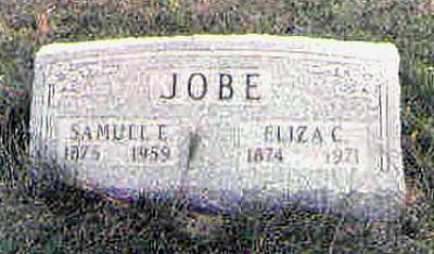 Samuel and Eliza's Tombstones