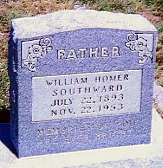 William Homer Southward Tombstone