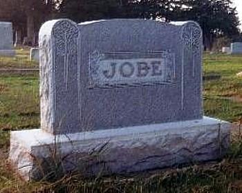 Jobe Plot Headstone