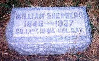 William Shepherd Jobe - small head stone